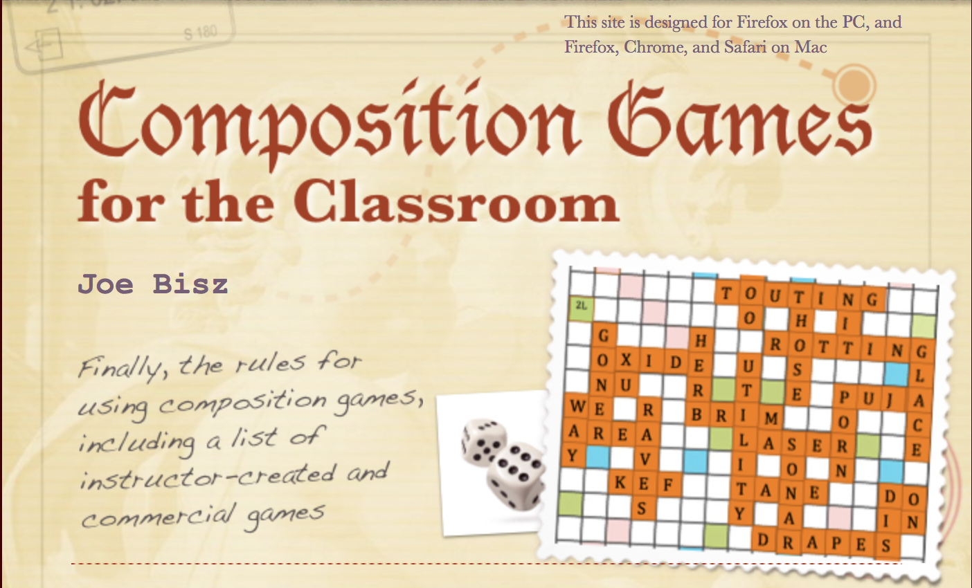 Composition Games for the Classroom-BannerCrop